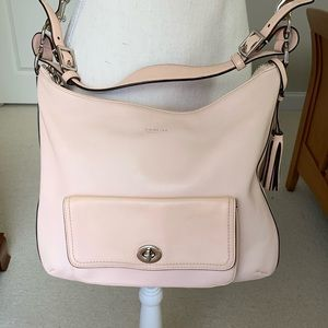 Coach Courtney Leather Convertible Hobo